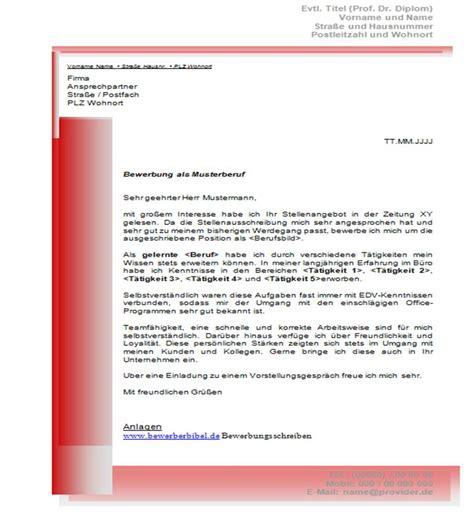 Vorlagen Für Wohnungsbewerbung Pin Bewerbungsschreiben Muster Und Vorlagen F 188 R Die Bewerbung On