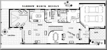 Design House Plans For Free Narrow Block House Designs Perth 4 Bedroom Guest Room