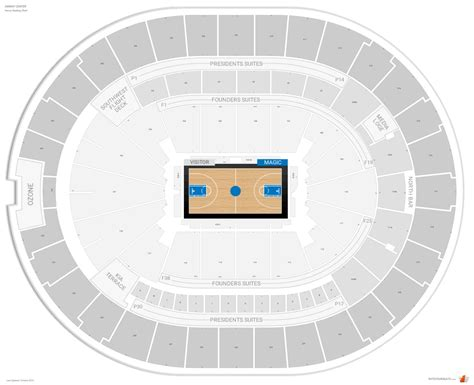 amway center floor plan orlando magic seating guide amway center rateyourseats com