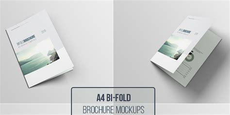 A4 Psd Bifold Brochure Mockup Bypeople A4 Folder Template Psd