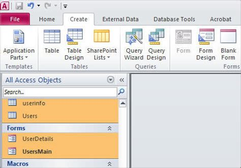 microsoft access database templates the best template ideas