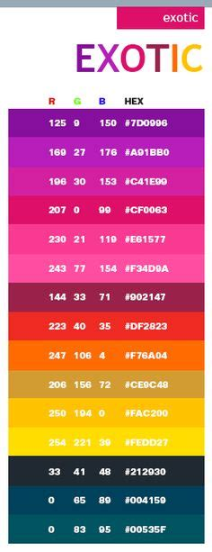 neon pink color code fluorescent or neon colors hex numbers colours
