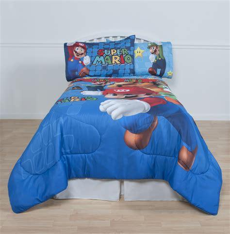 mario bedding nintendo super mario twin comforter shop your way