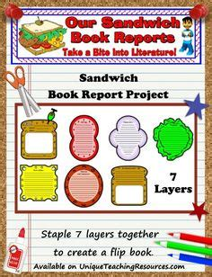 Hiloh Lesson Plans Shaped Book Report Project Templates 1000 Images About Book Report Ideas On Book