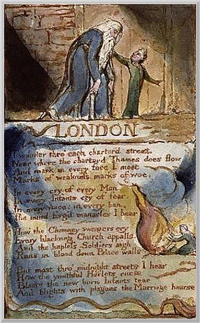 themes london william blake overarching theme gwyneth west engid poetry portfolio