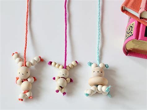 bead bookmark craft amusing diy bead bunny bookmark kidsomania