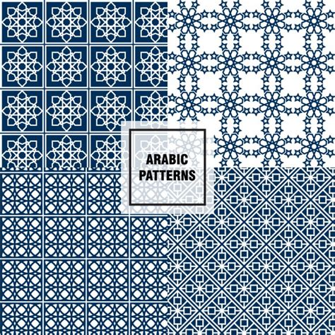 arabic pattern ai arabic stars patterns vector free download