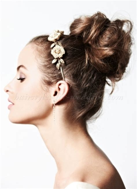 high bun updo wedding top bun wedding hairstyles high bun hairstyle for brides