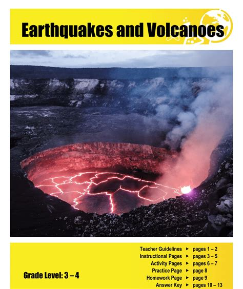 earthquake science earthquakes and volcanoes lesson plan clarendon learning