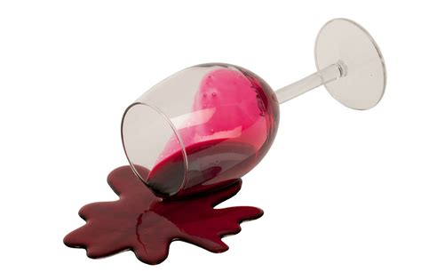 Wine Spill On by Food Glass Of Spilled Wine Great Gift Ebay