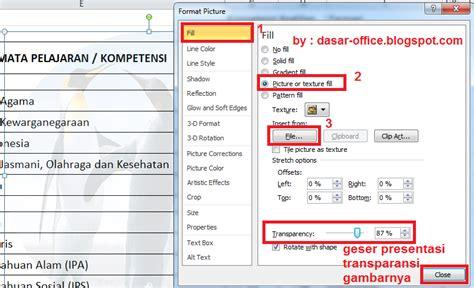cara membuat gambar transparan di indesign cara membuat gambar transparan watermark di excel