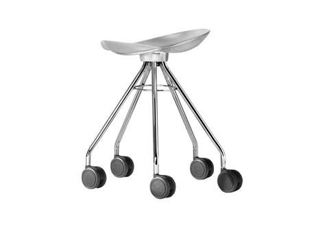 sgabello con ruote jamaica sgabello con ruote bd barcelona design milia shop