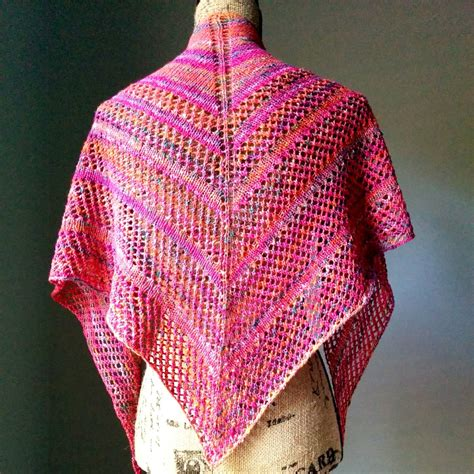 knitting shawls casual lace knit shawl purl avenue