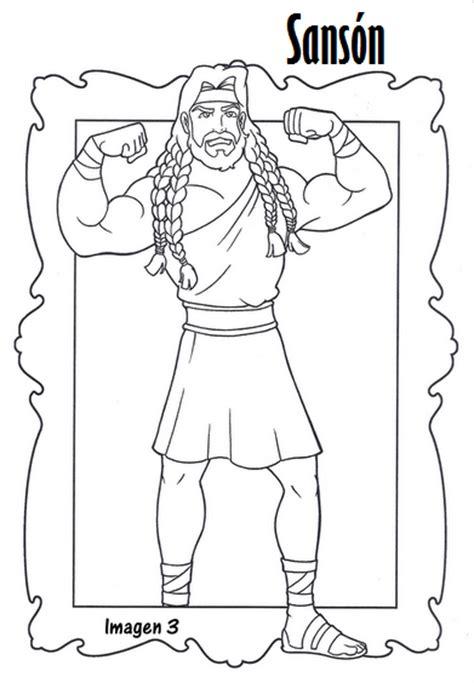 dibujos para nios de la historia de sanson sanson y dalila coloring pages