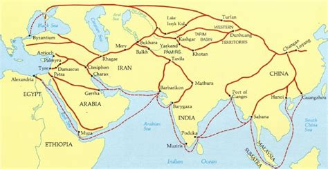 silk road map rkgregory china
