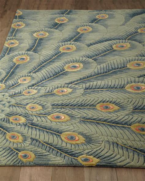 Peacock Runner Rug Fancy Peacock Rug