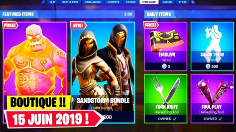 boutique fortnite du  juin   fortnite fr