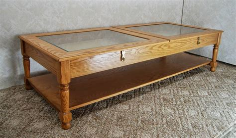 Show Tables by Display Coffee Table De Vries Woodcrafters