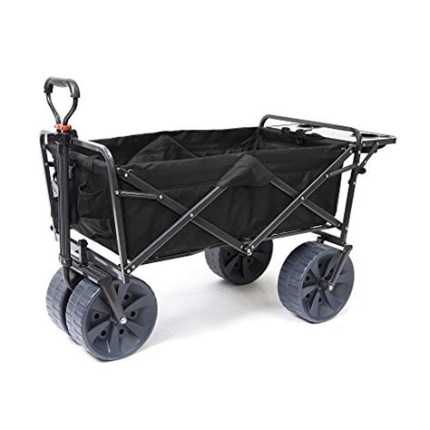 mac wagon with table mac sports heavy duty collapsible folding all terrain