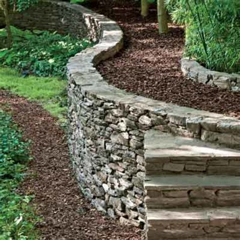 How To Build A Garden Wall by How To Build A Retaining Walls 187 Denbok Landscaping Design