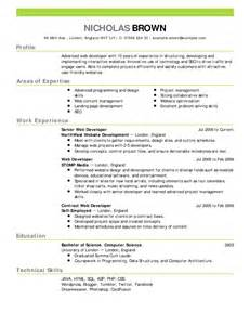 Resume Sample Good by Good Resume Samples
