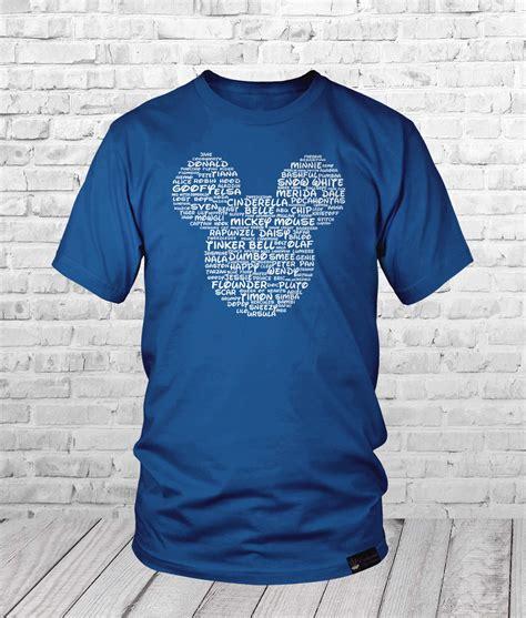 design a shirt disney mickey ears disney inspired word cloud shirt enchanted