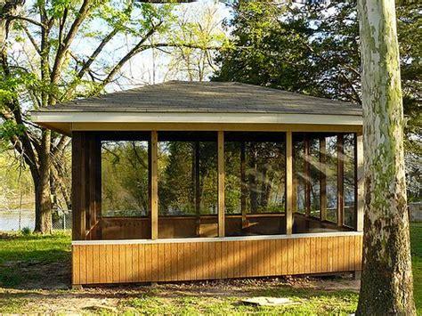 Screened Pavilion Gazebo Gazebo Gazebo Plans Gazebo Patio Gazebo Plans