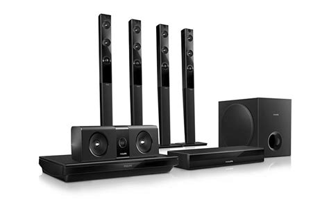 philips 3d smart home theater system 5 1 channel