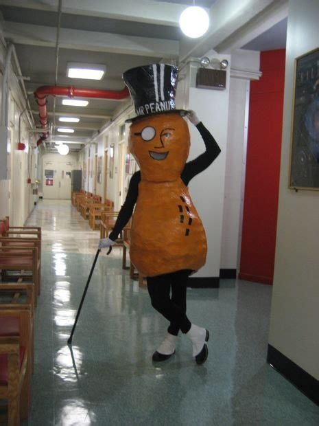 Mr Planters Peanut Costume how to make a mr peanut costume