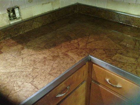 Paper Countertops brown bag counter tops keep it simple