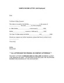 Proof Of Income Letter Template by Best Photos Of Income Verification Letter Sle