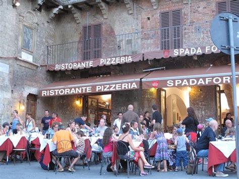 best restaurants siena italy spadaforte siena restaurant reviews phone number