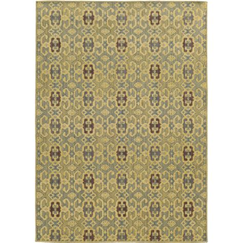 bahama rugs bahama cabana 1 10 x 3 3 indoor outdoor rug by weavers blue beige