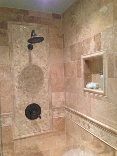 Tiling Bathroom Shower Shower Tile Ideas For Spotless Bathroom Traba Homes