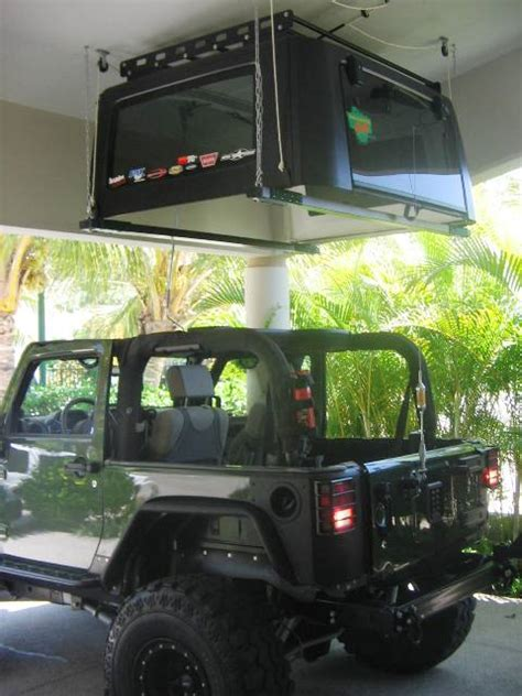 Jeep Roof Hoist 2 Door Top Hoist Opinions Needed
