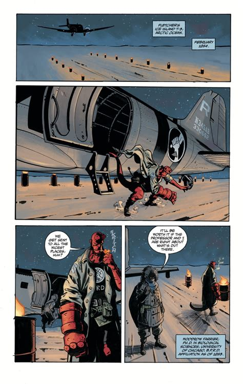 hellboy and the b p r d 1954 comic book preview hellboy and the b p r d 1954 the