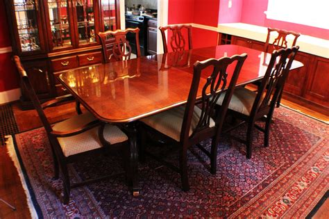Thomasville Cherry Esszimmer Set by Thomasville Cherry Formal Dining Room Set Cherry Tables