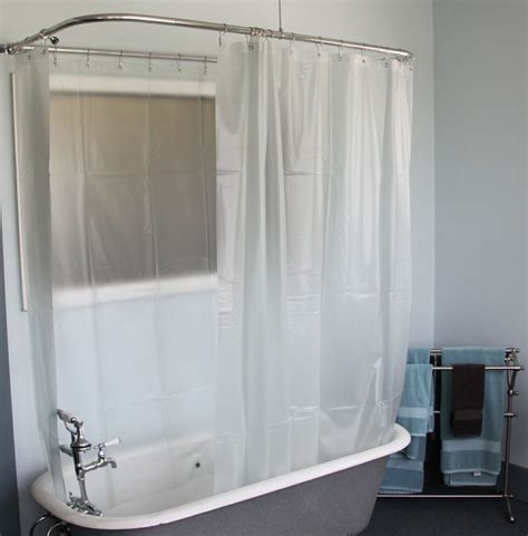shower curtains for clawfoot tubs clawfoot tub curtains integralbook com