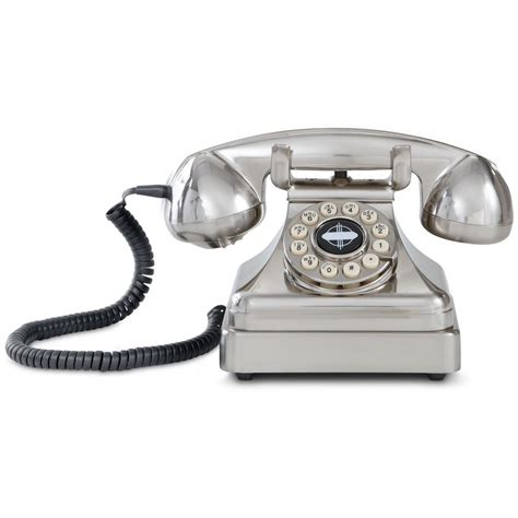 Crosley Desk Phone by Crosley Classic Desk Phone 48743 Nostalgia Novelty At Sportsman S Guide