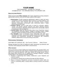 Sle Personal Assistant Resume by Personal Assistant Resume Sales Assistant