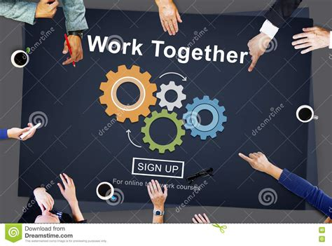 concept work work together teamwork collaboration union unity concept
