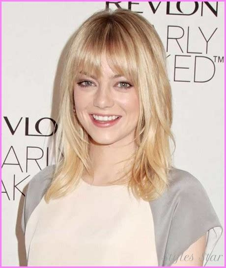 hairstyles 2017 medium length with bangs medium length haircuts with bangs 2017