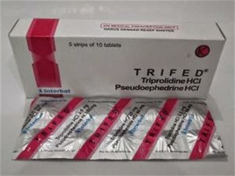 Salep Voltadex trifed tablet sirup pseudoefedrin hcl triprolidin hcl