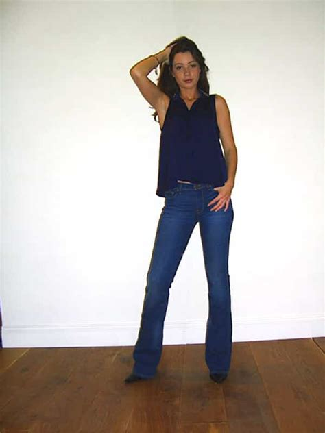 Denim And A Dress Tried And Tested For Winter And by Tried Tested Genetic Denim The High Rise Slim Bell