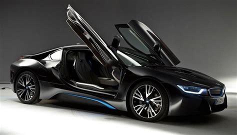 bmw supercar black bmw i8 hybrid supercar top speed and price cars corner