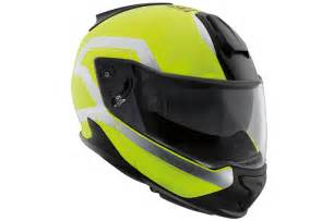 bmw system 7 fluorescent yellow helmets visors and