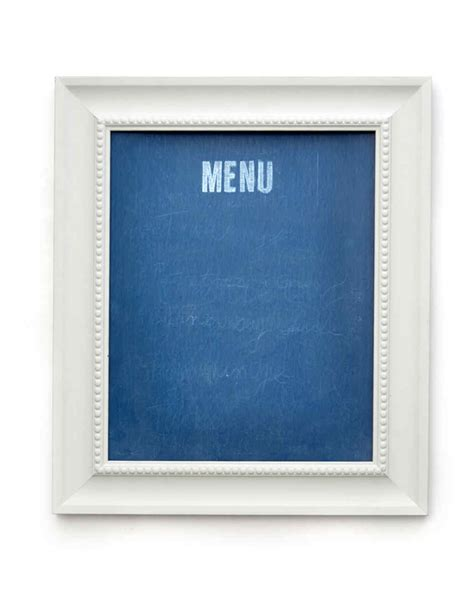 diy chalkboard martha stewart diy bistro chalkboard menu martha stewart