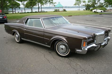 1971 lincoln continental for sale lincoln continental coupe 1971 brown for sale 1y89a800575