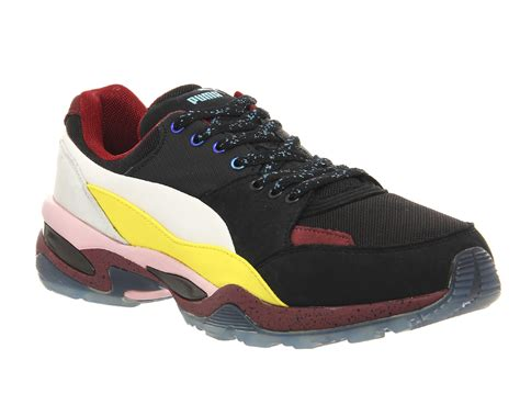 Tech Runner amq mcq tech runner lo black pink maroon yellow