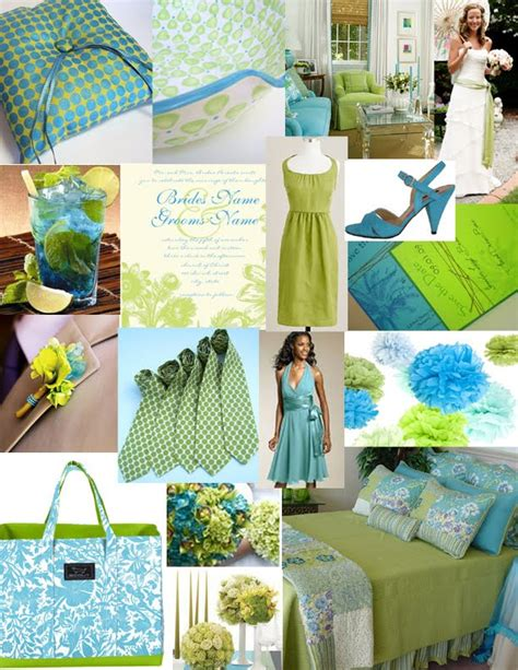 aqua green wedding ideas wedding with style a lime green and turquoise wedding